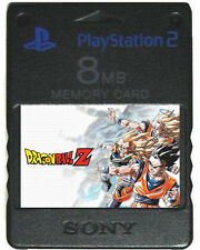 DRAGON BALL Z BUDOKAI TENKAICHI 1 2 3 Cheats Unlocked PS2 MEMORY CARD SAVES