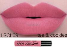 NYX Liquid Suede Cream Lipstick 'TEA & COOKIES' LSCL09 Pink New Sealed Authentic