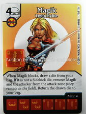 Uncanny X-Men MAGIK Lightchylde #75/126 Marvel Dice Masters Card Wizkids