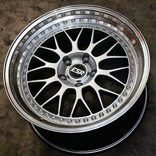 "18"" ESR SR01 Wheels 18x8.5 +30 / 18x9.5"" +35 5x114.3 Rims For GS300 GS430 GS400"