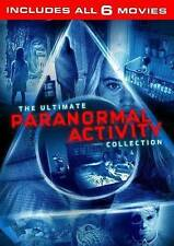 Paranormal Activity: 6-Movie Ultimate Collection (DVD, 2016, 6-Disc Set) NEW