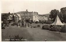 Huntly Arms Hotel Aboyne unused RP old pc James Reid Ballater