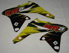 SUZUKI RMZ 250 RAD RADIATOR SCOOP GRAPHICS STICKERS RMZ250 10 11 12 13