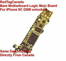 MOTHERBOARD MAIN LOGIC BARE BOARD FOR IPHONE 5C - unlocked - GSM Not a Full Boar