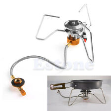 3500W Mini Stove Outdoor Camping Hiking BBQ Picnic Gas Burner Windproof Portable