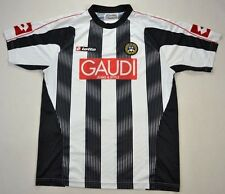 Lotto 2007-08 UDINESE CALCIO koszulka XL Shirt Jersey Kit
