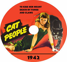 Cat People (1942 Horror Classic) on DVD