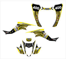 Suzuki LTZ400 Z400 KFX 400 graphic decal kit 2003 - 2008 #7777 Yellow