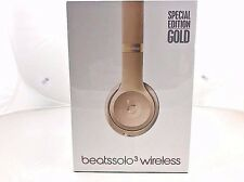 Beats by Dr. Dre Solo3 Wireless Headband Headphones - - GOLD COLOR