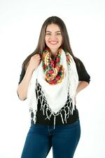 Stylish Large Slavonic, Russian scarf, shawl folk style new Winter collection