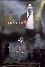 2005 Constantine Keanu Reeves Double Sided Original Movie Poster 27x40