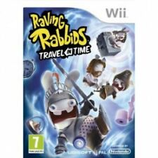Raving Rabbids: Travel in Time Wii NEW and Sealed Original Release NOT Budget
