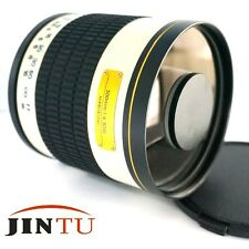 500mm f/6.3 Telephoto Mirror Lens for Pentax K7 K20D K200D K10D K100D DSLR + T2