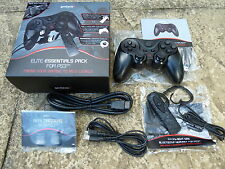 SONY PLAYSTATION 3 PS3 WIRELESS CONTROLLER BLUETOOTH HEADSET HDMI USB CABLE NEW!