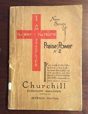 New Songs Of Praise And Power No. 2  (Softcover) Churchill SheetnoteMusic.com