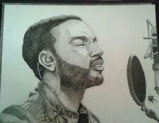 John Legend portrait/drawing/music/all of me/artwork/original
