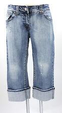 Blue Fire Jeans by Sejour blau W 29 Stiefel-Jeans Baumwolle Strass wie neu