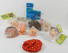 Craft Clown Granpa Piggy Baby Doll Heads & More Variety Pack