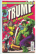 Donald Trump Vs Hillary Clinton Uncivil War Coloring Book Incredible Hulk 181