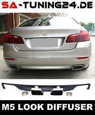 BMW F10 Heck Stoßstange Diffusor Blende Mpaket M5 Auspuffblenden Auspuff #17