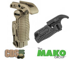 MAKO FAB Defense Tactical Weaver Picatinny Folding Grip Foregrip FGG-K TAN