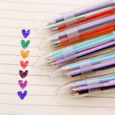 Original Stationery Multi-Color Ballpoint Pen 6colors Ballpoint Pen Study Pen US