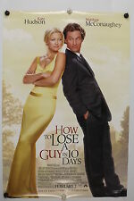 HOW TO LOSE A GUY IN 10 DAYS - Original Movie Poster - 2002  Rolled DS C9