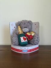 "Me To You Tatty Teddy Grey Bear Just for you 6"" Valentines Gift SMALL FAULT"