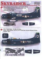 Print Scale Decals 1/72 DOUGLAS A-1 SKYRAIDER Attack Plane Part 2