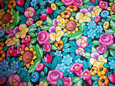 **Mary Engelbreit  *  Cotton quilting fabric* BTY Floral Lovey*1 yard**