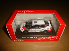 1/43 China Honda civic #9 racer diecast model