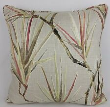 """Harlequin Calliope Pillow Cushion Cover 20"""" Linen Large Palm Pink Grey"""
