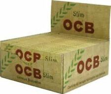 OCB Classic Rolling Paper King Size Slim Organic Hemp  Box of 50