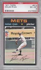 1971 Topps Baseball Nolan Ryan #513 PSA 6