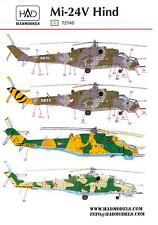 Hungarian Aero Decals 1/72 MIL Mi-24V HIND Soviet Attack Helicopter