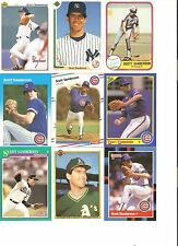 18 CARD SCOTT SANDERSON BASEBALL CARD LOT            22