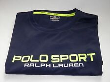 NEW - POLO SPORT PERFORMANCE T-SHIRT THERMOVENT - FRENCH NAVY BLUE - LARGE