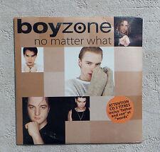 "CD AUDIO/ BOYZONE ""NO MATTER WHAT"" CD MAXI-SINGLE 3 TRACKS  NEUF SOUS BLISTER"