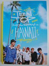 TEEN TOP TEENTOP Holiday In Hawaii K-POP PHOTO BOOK PHOTOBOOK USA Seller