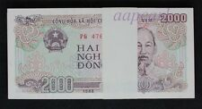 a bundle 100pcs Vietnam 2000 Dong Banknotes brand new Collections Uncirculated