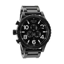 Nixon THE 51-30 CHRONO All Black Men's Watch A083 001 | A083001
