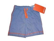 NEU Liegelind tolle Shorts Gr. 68 blau mit orangenen Ziernähten !!