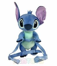 "Disney Lilo and Stitch - Stitch Blue 16"" Soft  2 in 1 Plush Backpack A09030"