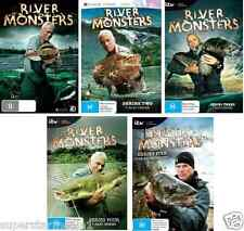 River Monsters Series COMPLETE COLLECTION Seasons 1 - 5 : NEW DVD