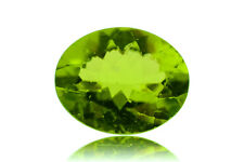 2.90 ct 10x8 mm Oval Natural Green Peridot