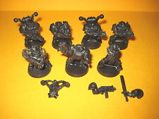 Warhammer 40k - Chaos Space Marines - 7x Death Guard aus Metall