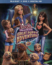 Barbie and Her Sisters in The Great Puppy Adventure (Blu-ray/DVD + Digital, NEW!