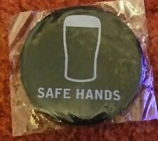 50%off sale Guinness rugby six nations safe hands badge was 1.99