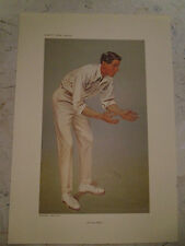 VANITY FAIR PRINT CRICKET A CENTURY MAKER MR HUTCHINGS
