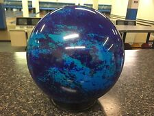 New OTB Blue Green Teal Water Background Swirl 10 # Bowling Ball Viz-a-Ball